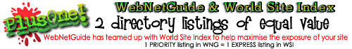 World Site Index + WebNetGuide for 1 fee